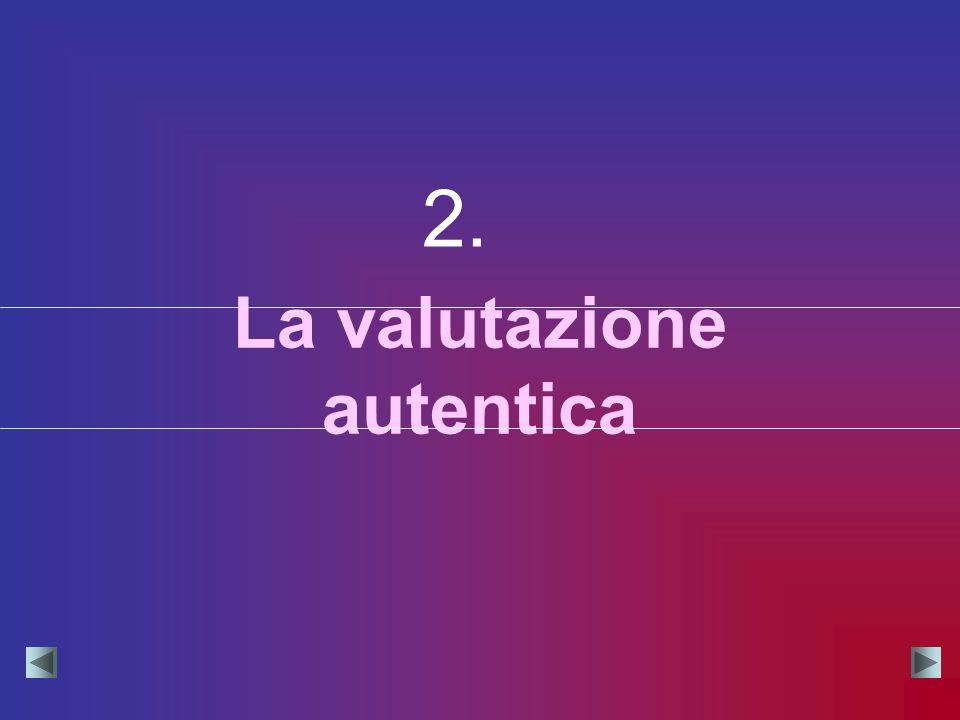 La valutazione autentica