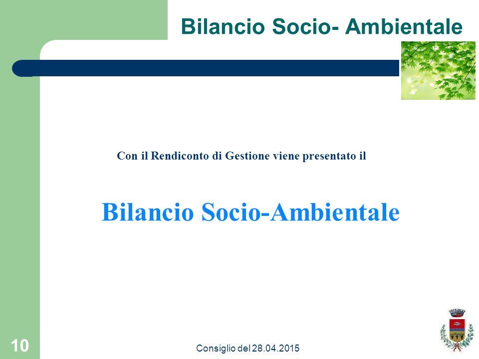 Bilancio Socio-Ambientale