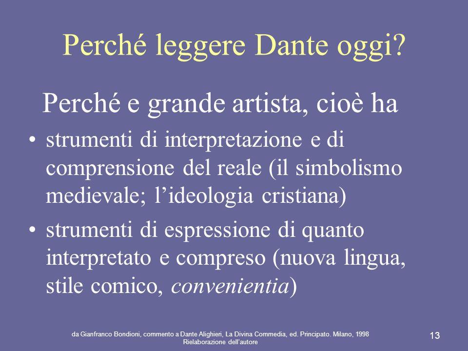 Perché leggere Dante oggi