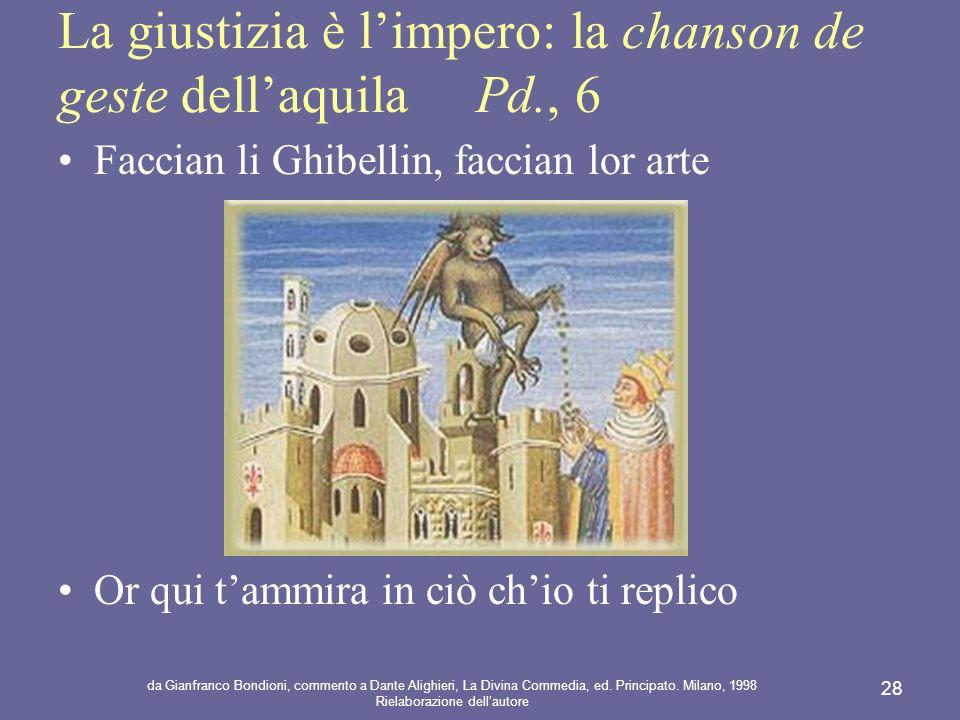 La giustizia è l'impero: la chanson de geste dell'aquila Pd., 6