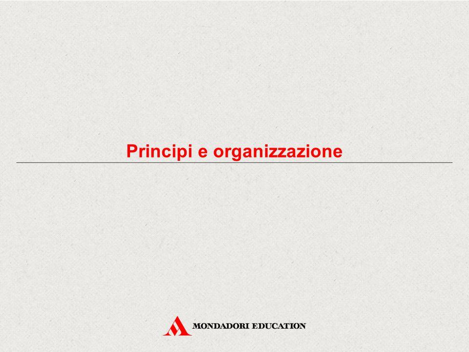 Principi e organizzazione