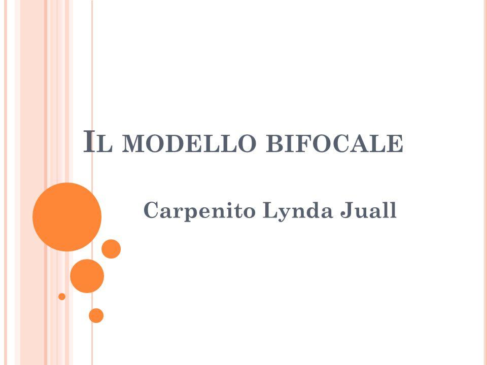 Il modello bifocale Carpenito Lynda Juall