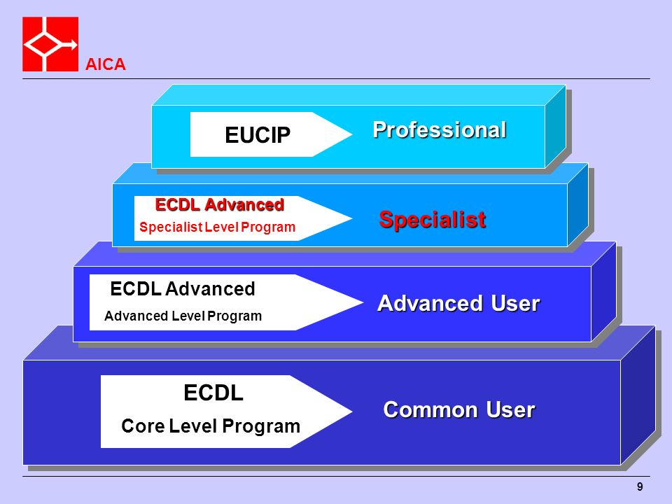 Professional EUCIP ECDL Advanced Specialist ECDL Advanced