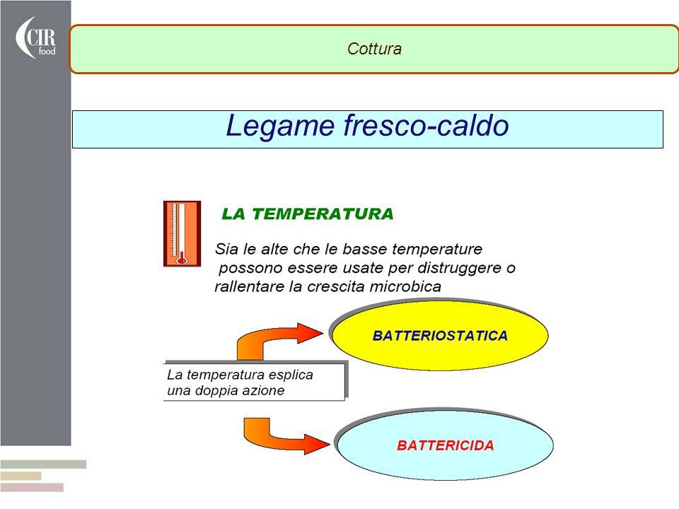 Cottura Legame fresco-caldo SCUOLA