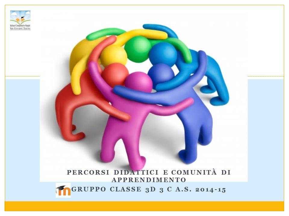 Percorsi didattici e comunità di apprendimento