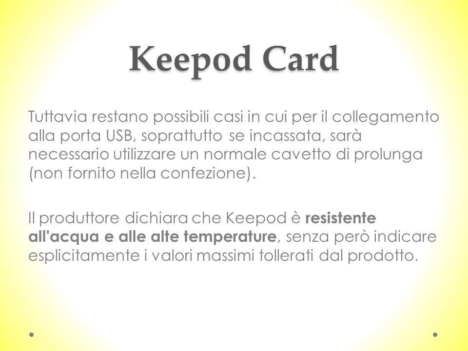 Keepod Card