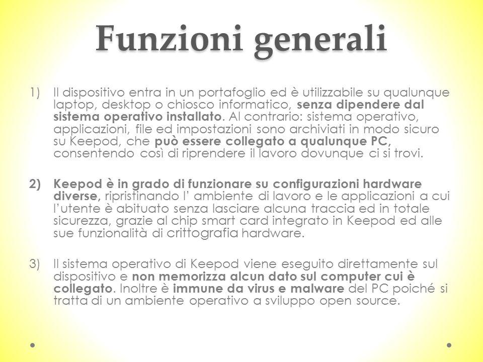 Funzioni generali
