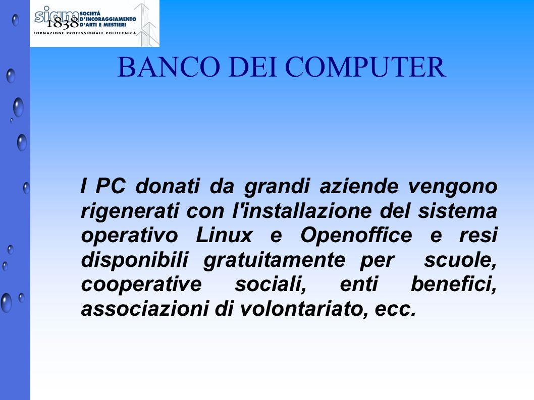 BANCO DEI COMPUTER