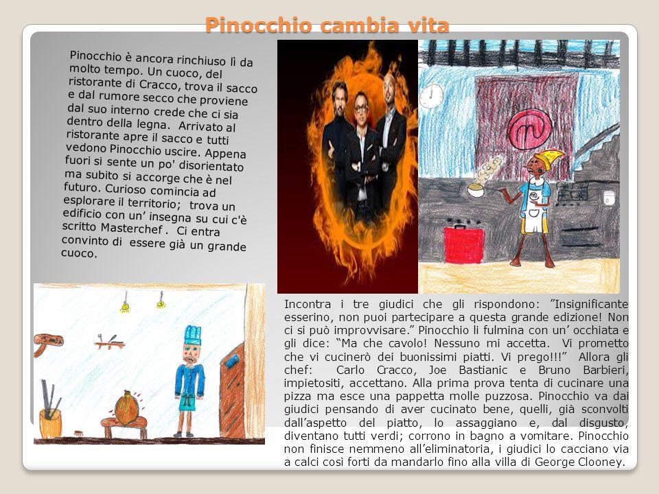 Pinocchio cambia vita