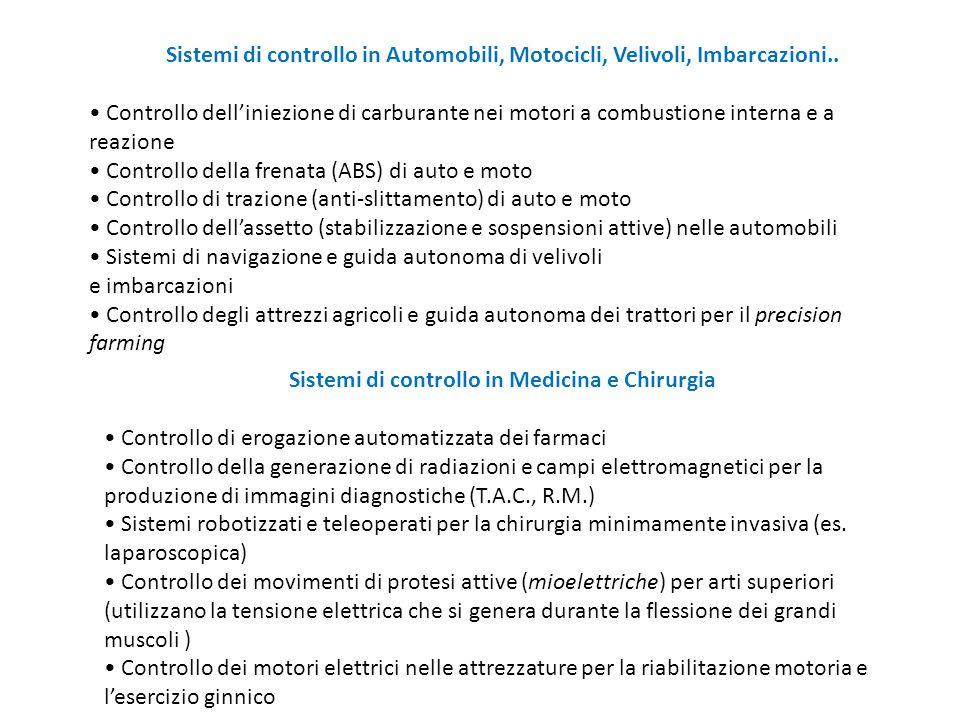 Sistemi di controllo in Medicina e Chirurgia
