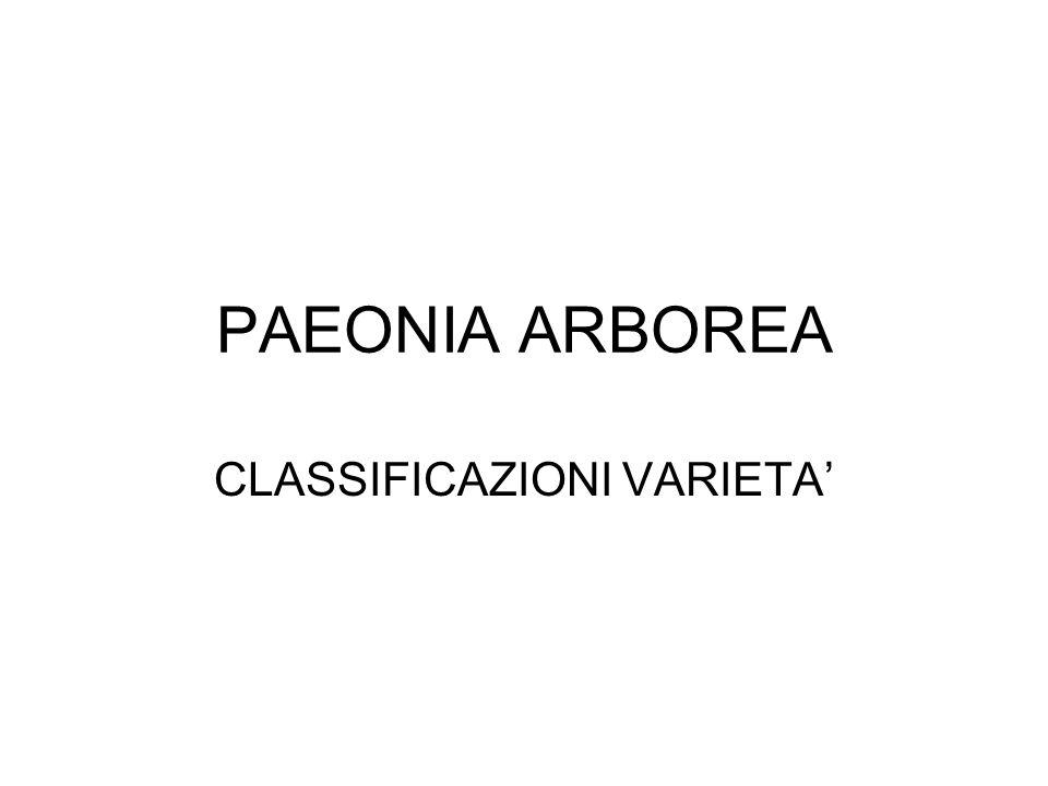 CLASSIFICAZIONI VARIETA'