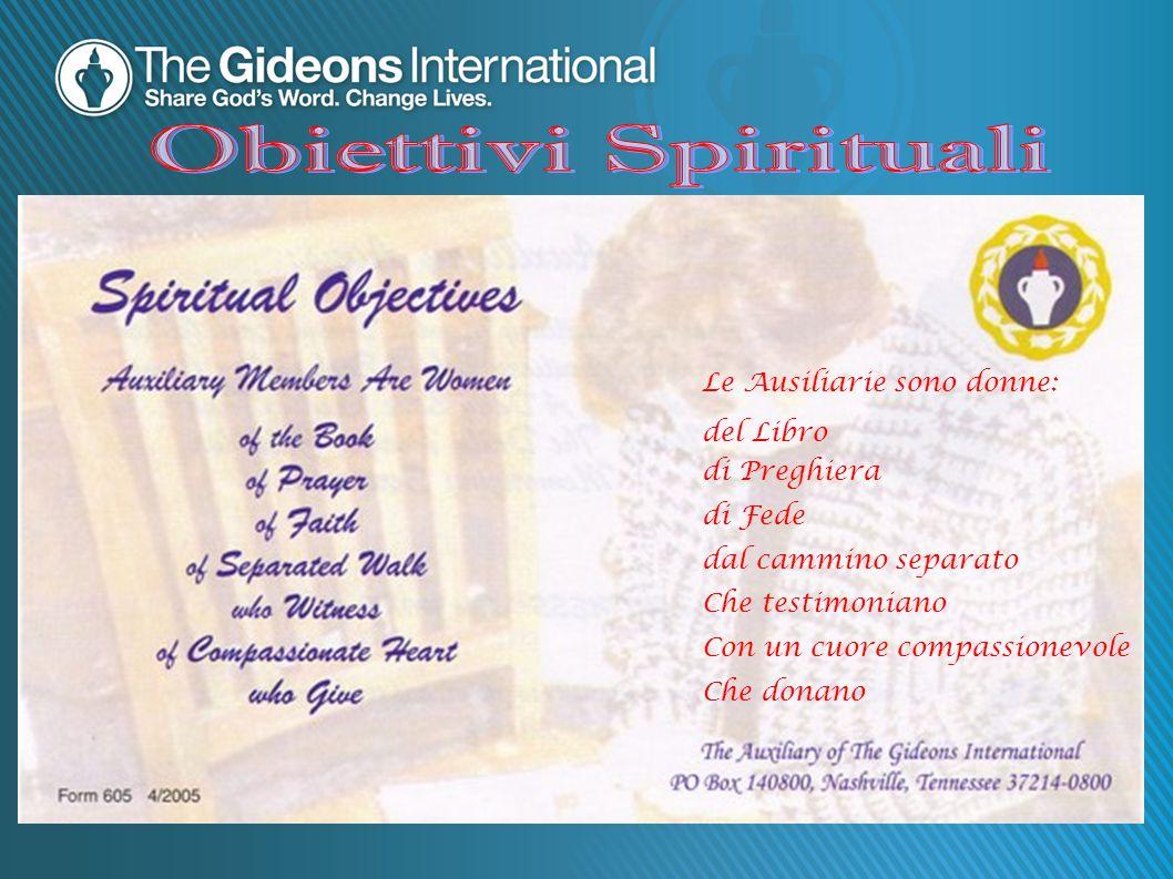 Obiettivi Spirituali Le Ausiliarie sono donne: del Libro di Preghiera