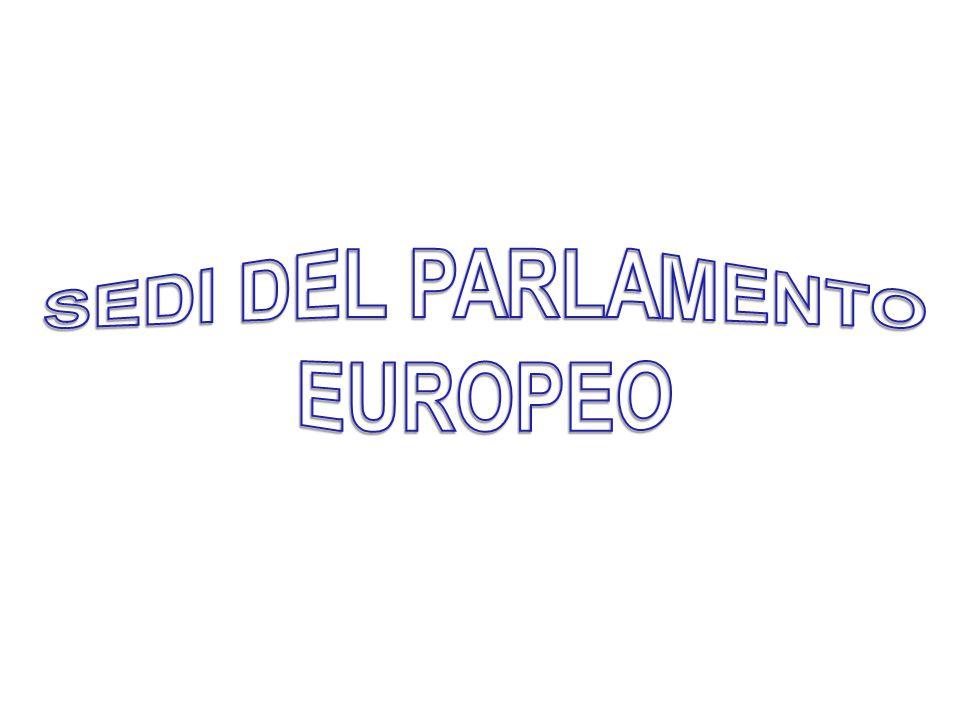 SEDI DEL PARLAMENTO EUROPEO