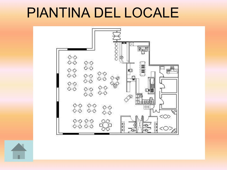 PIANTINA DEL LOCALE