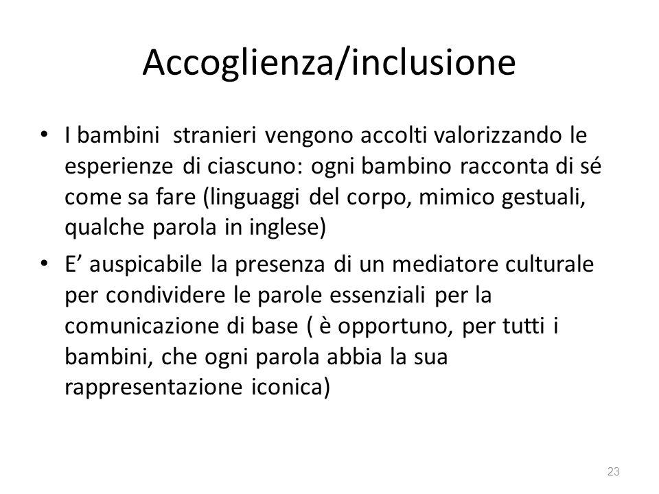 Accoglienza/inclusione