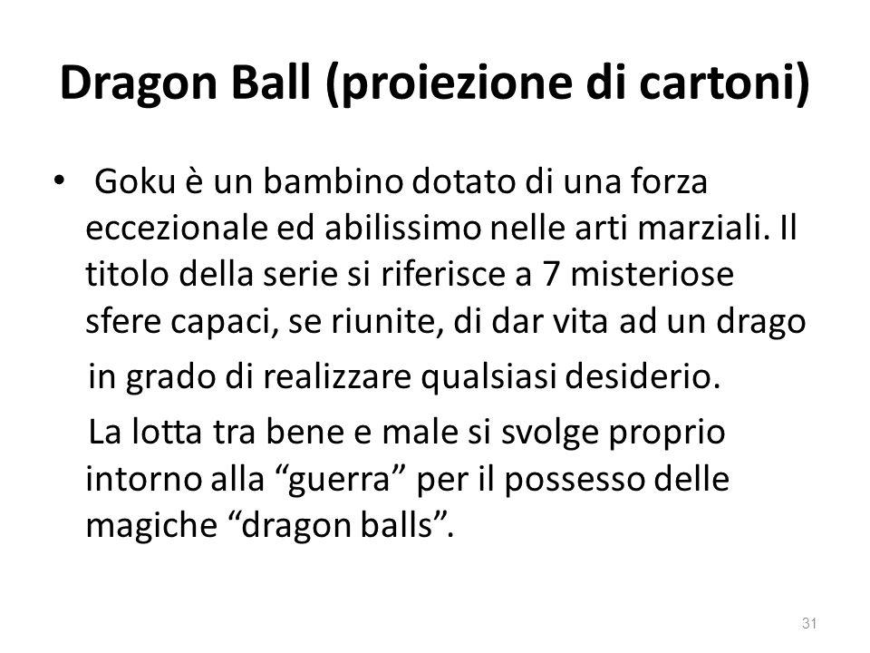 Dragon Ball (proiezione di cartoni)