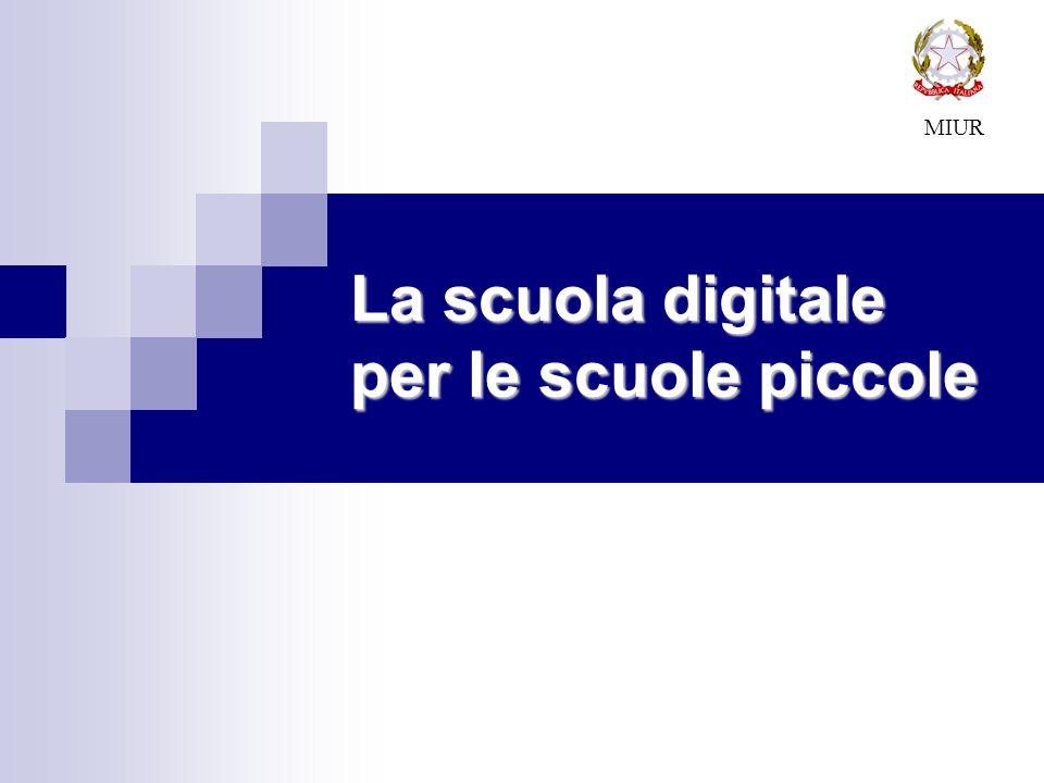 La scuola digitale per le scuole piccole