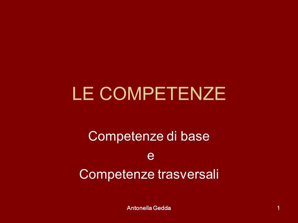 Competenze di base e Competenze trasversali