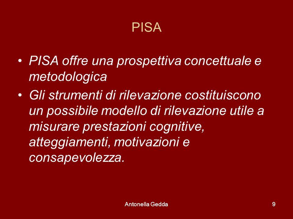 PISA offre una prospettiva concettuale e metodologica