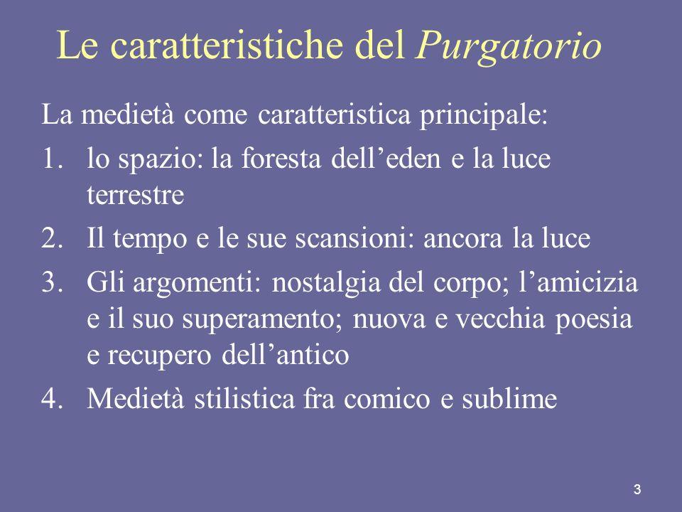 Le caratteristiche del Purgatorio