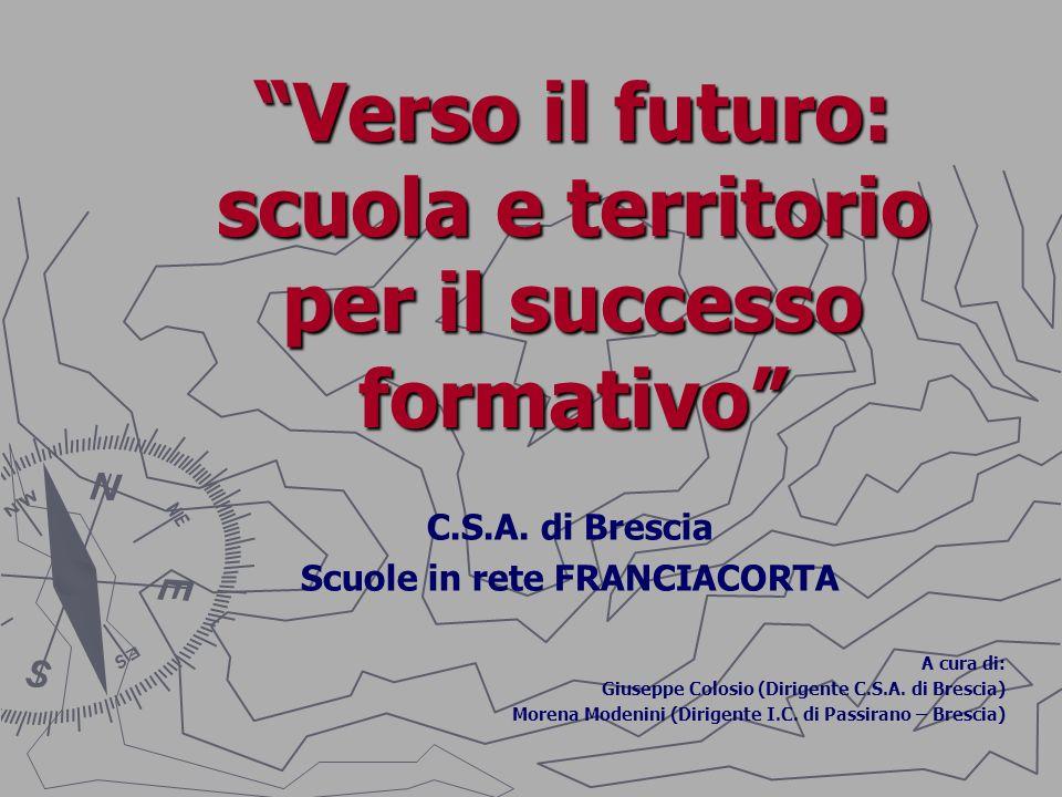Verso il futuro: scuola e territorio per il successo formativo