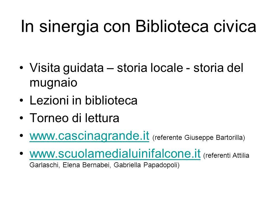In sinergia con Biblioteca civica