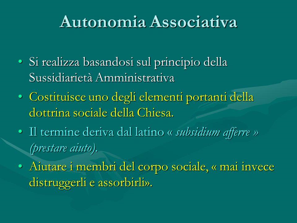 Autonomia Associativa