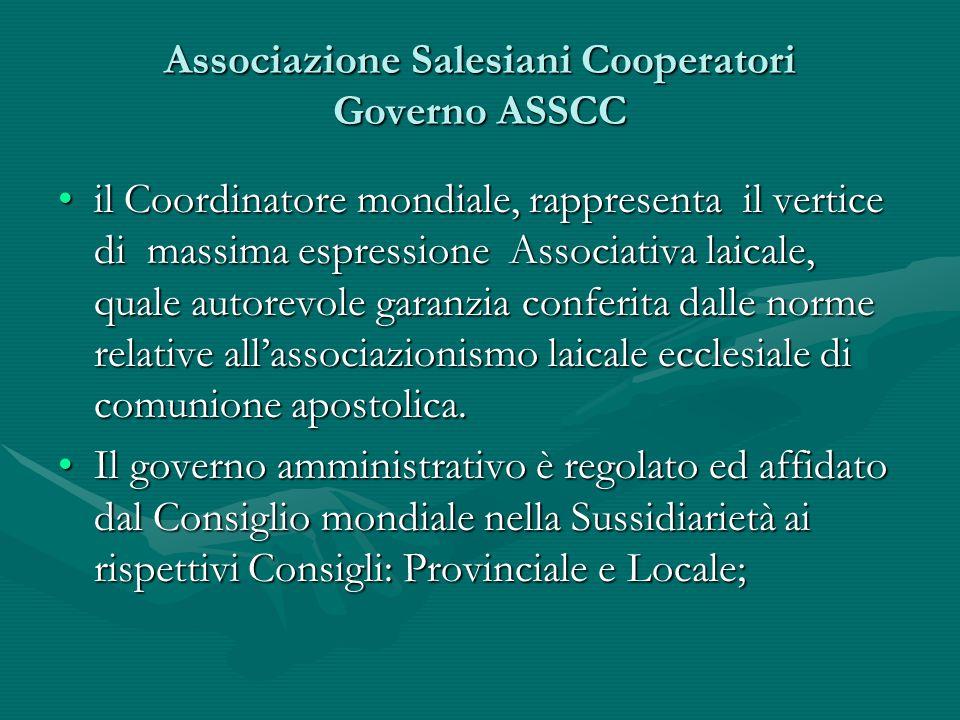 Associazione Salesiani Cooperatori Governo ASSCC