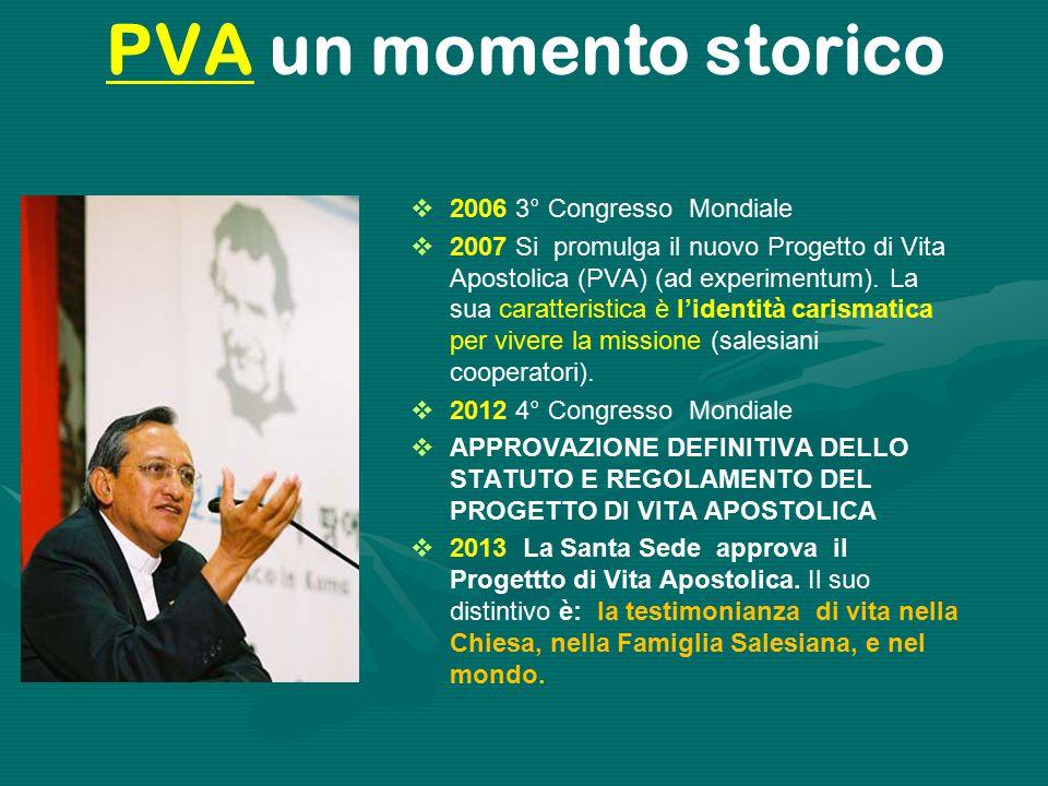 PVA un momento storico 2006 3° Congresso Mondiale