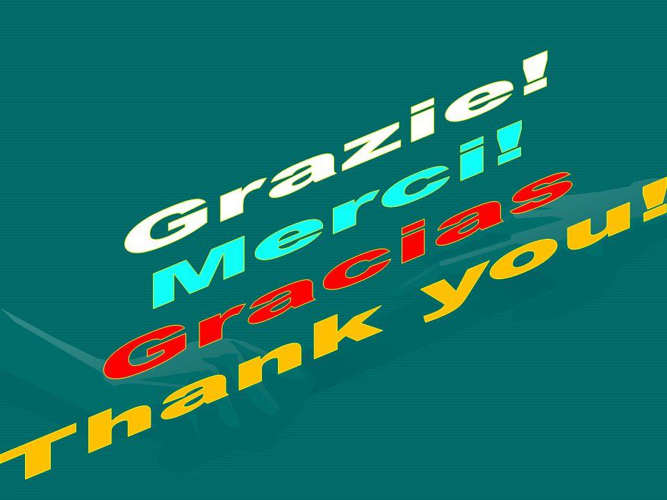 Grazie! Merci! Gracias Thank you!