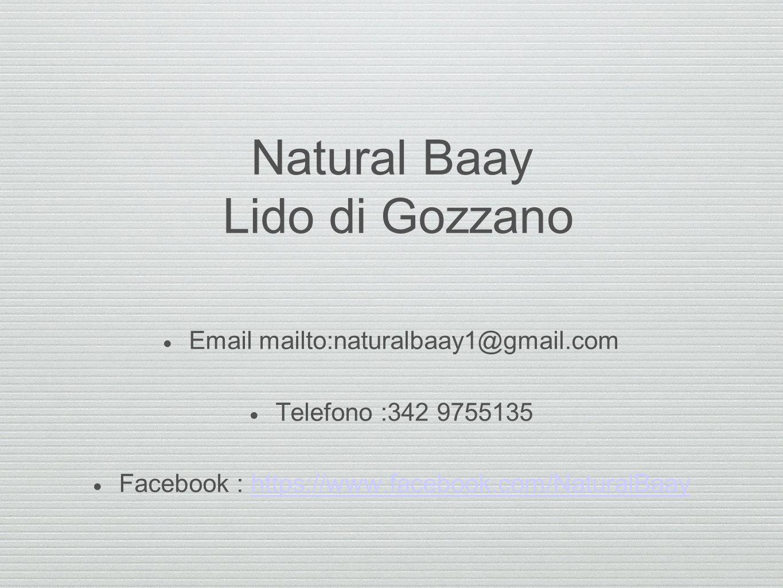 Natural Baay Lido di Gozzano