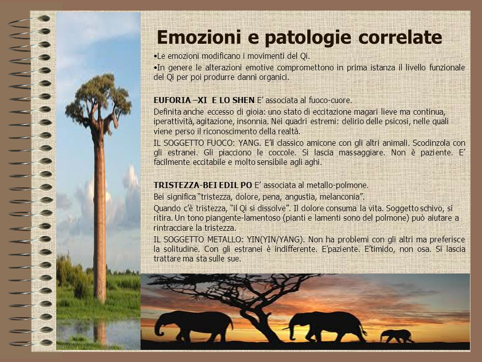 Emozioni e patologie correlate