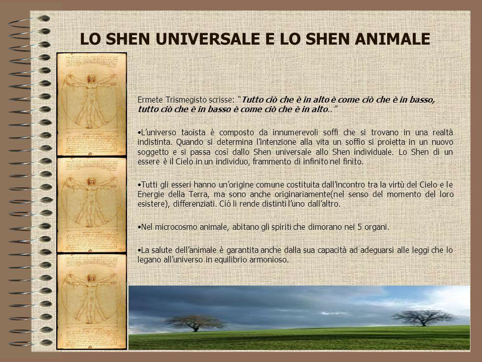 LO SHEN UNIVERSALE E LO SHEN ANIMALE