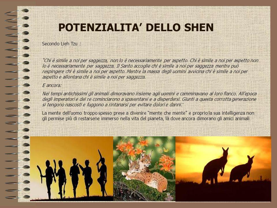 POTENZIALITA' DELLO SHEN