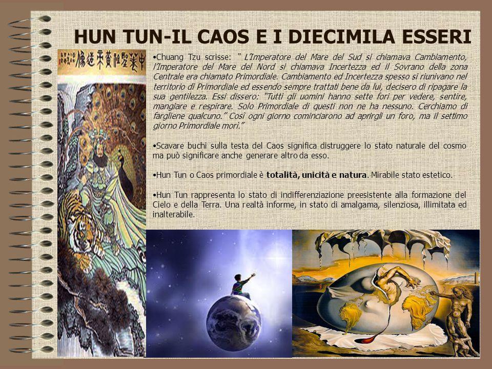 HUN TUN-IL CAOS E I DIECIMILA ESSERI