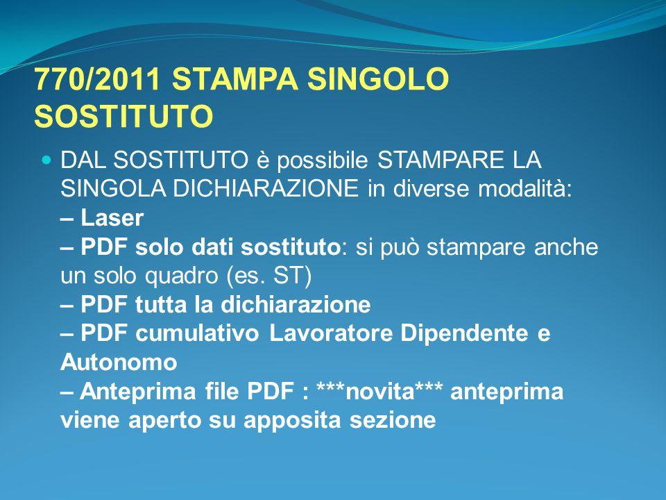 770/2011 STAMPA SINGOLO SOSTITUTO