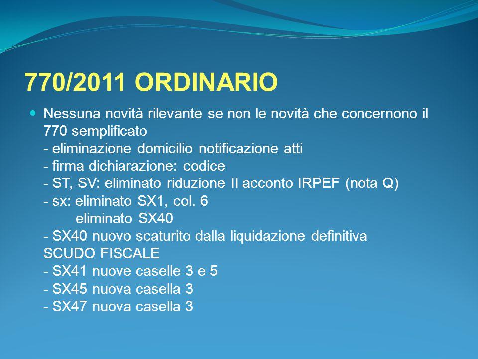 770/2011 ORDINARIO