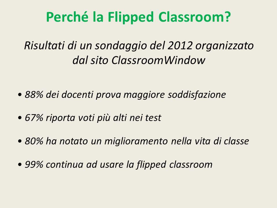 Perché la Flipped Classroom