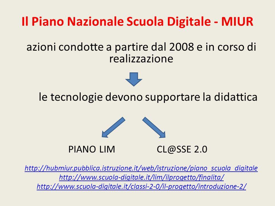 Il Piano Nazionale Scuola Digitale - MIUR