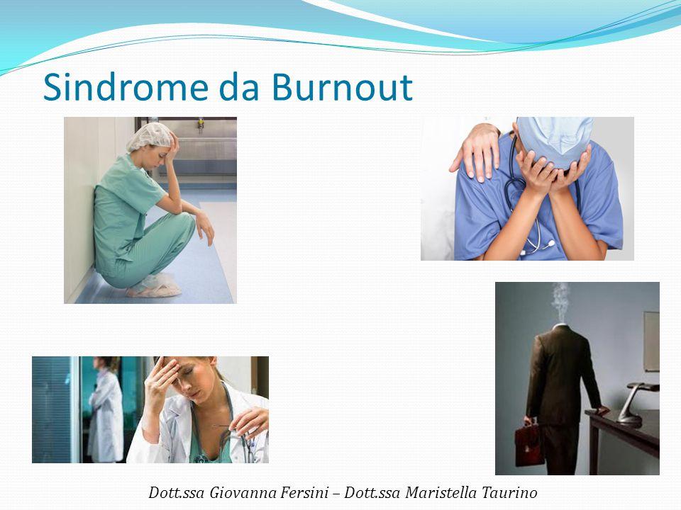 Dott.ssa Giovanna Fersini – Dott.ssa Maristella Taurino