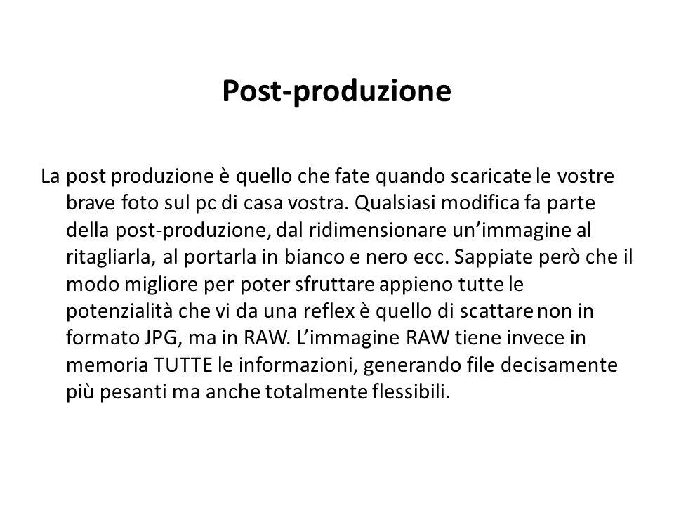 Post-produzione