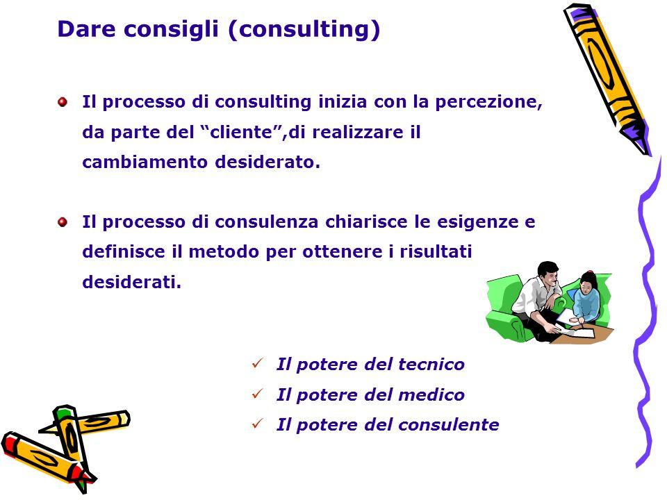 Dare consigli (consulting)