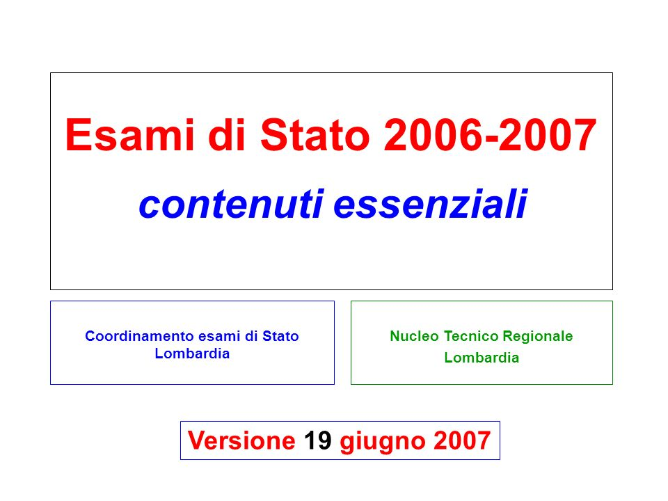 Nucleo Tecnico Regionale Lombardia