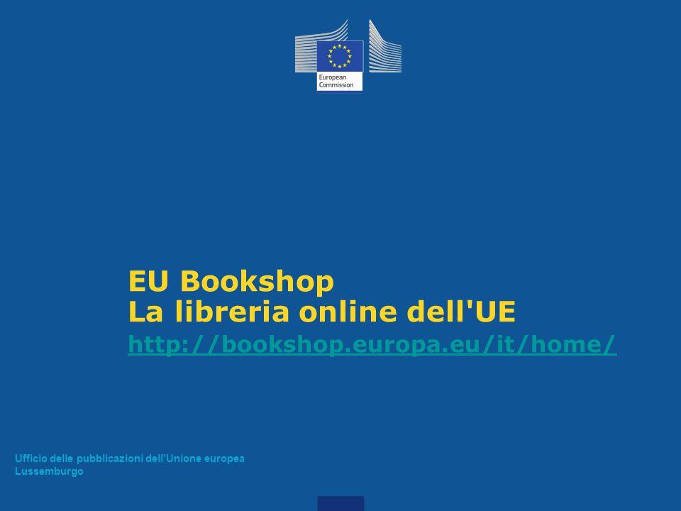 La libreria online dell UE
