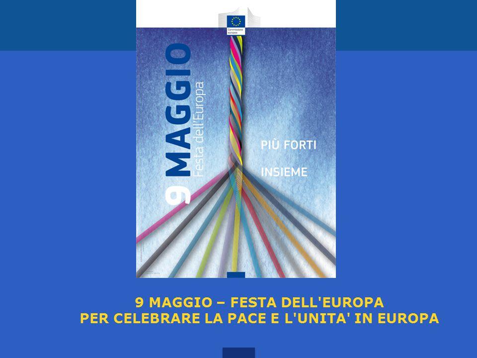 9 MAGGIO – FESTA DELL EUROPA