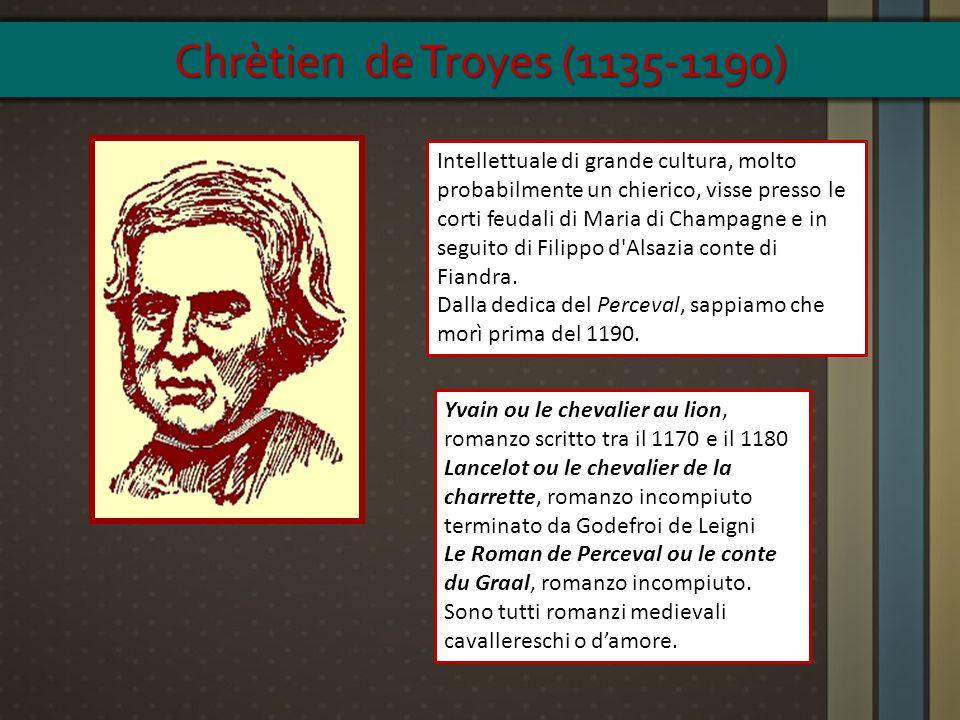 Chrètien de Troyes (1135-1190)