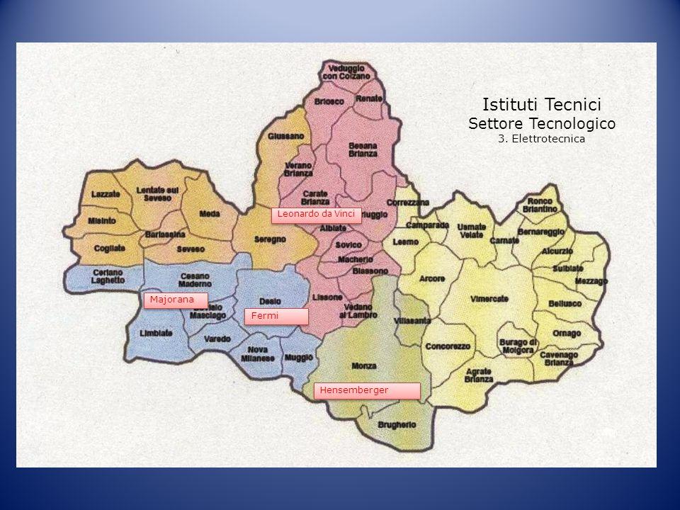 Istituti Tecnici Settore Tecnologico 3. Elettrotecnica Majorana Fermi