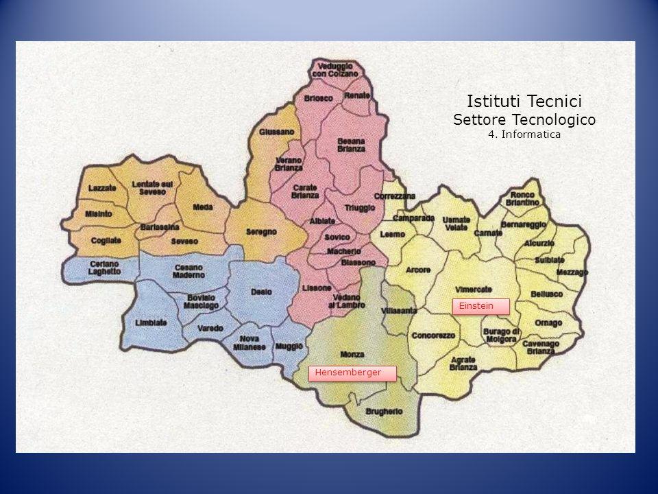 Istituti Tecnici Settore Tecnologico 4. Informatica Einstein