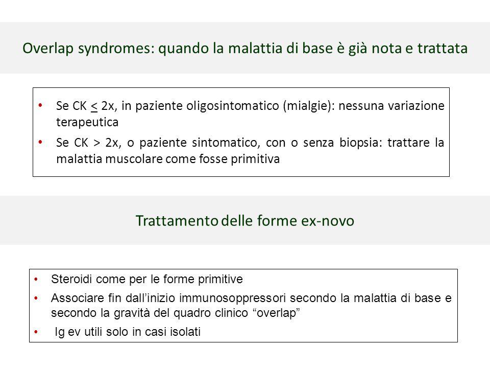 Overlap syndromes: quando la malattia di base è già nota e trattata