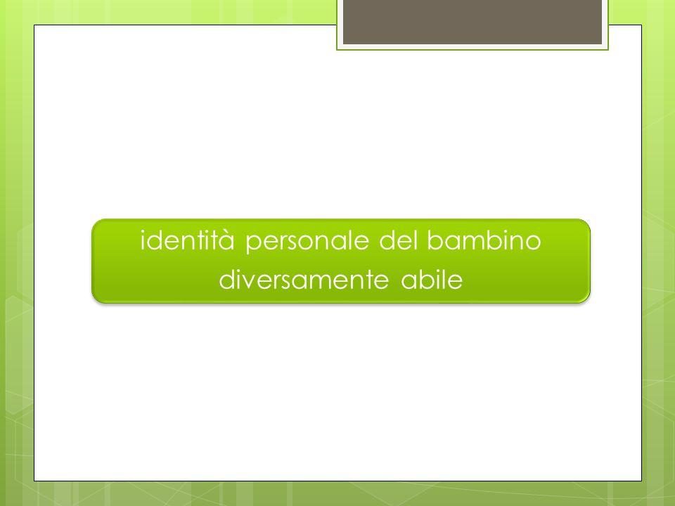 identità personale del bambino